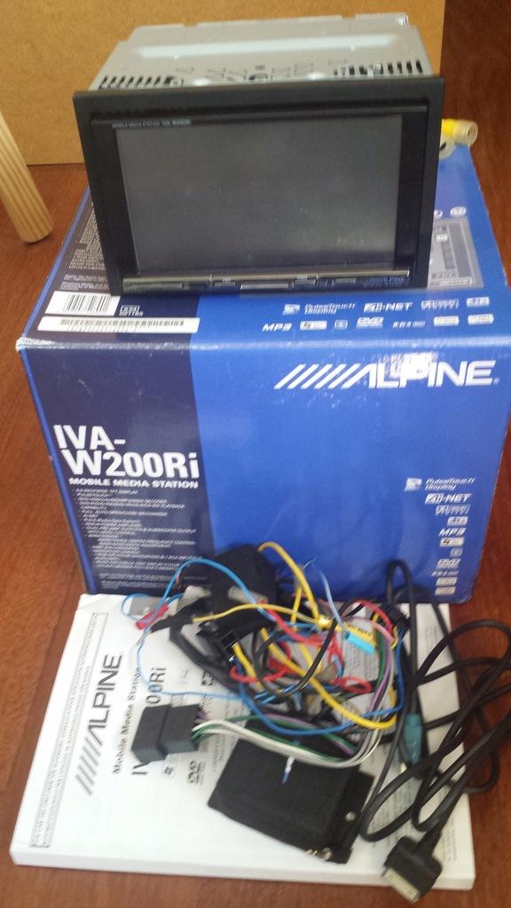 ALPINE stacja multimedialna ALPINE IVA-W200Ri