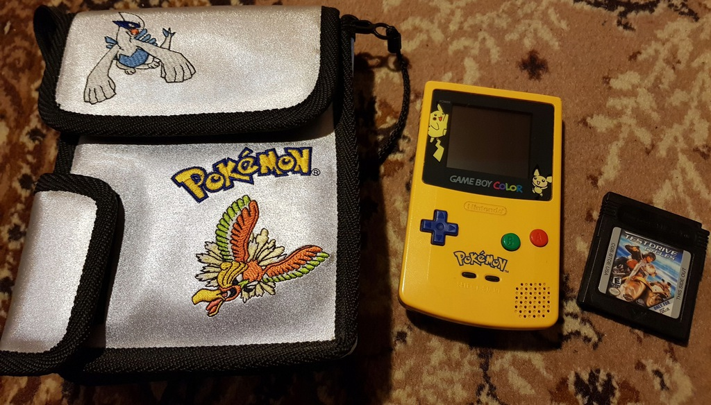 GAME BOY COLOR POKEMON SPECIAL EDITION LIMITOWANY