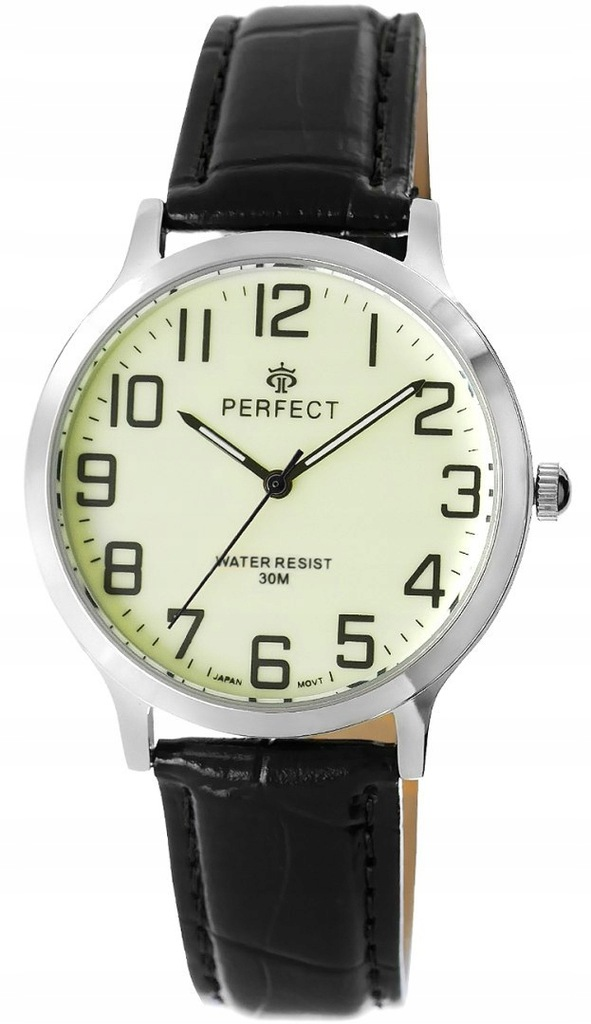 Zegarek Męski PERFECT C422-G-2 Fluorescencja
