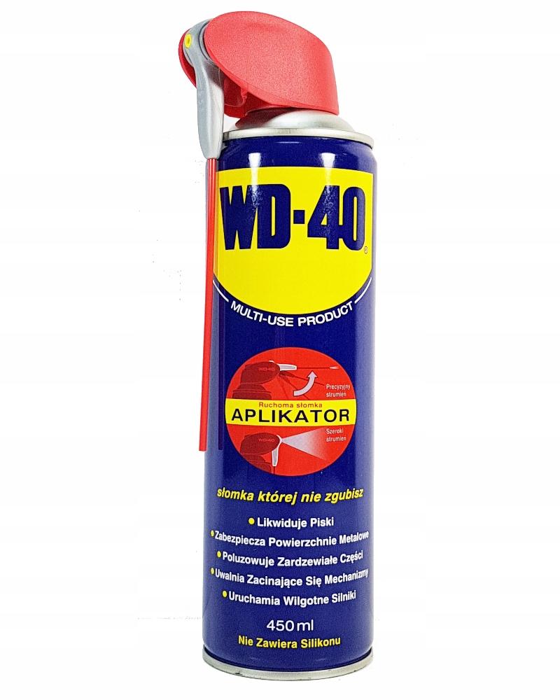 WD-40 WD 40 WD40 450ml SMAR ODRDZEWIACZ APLIKATOR