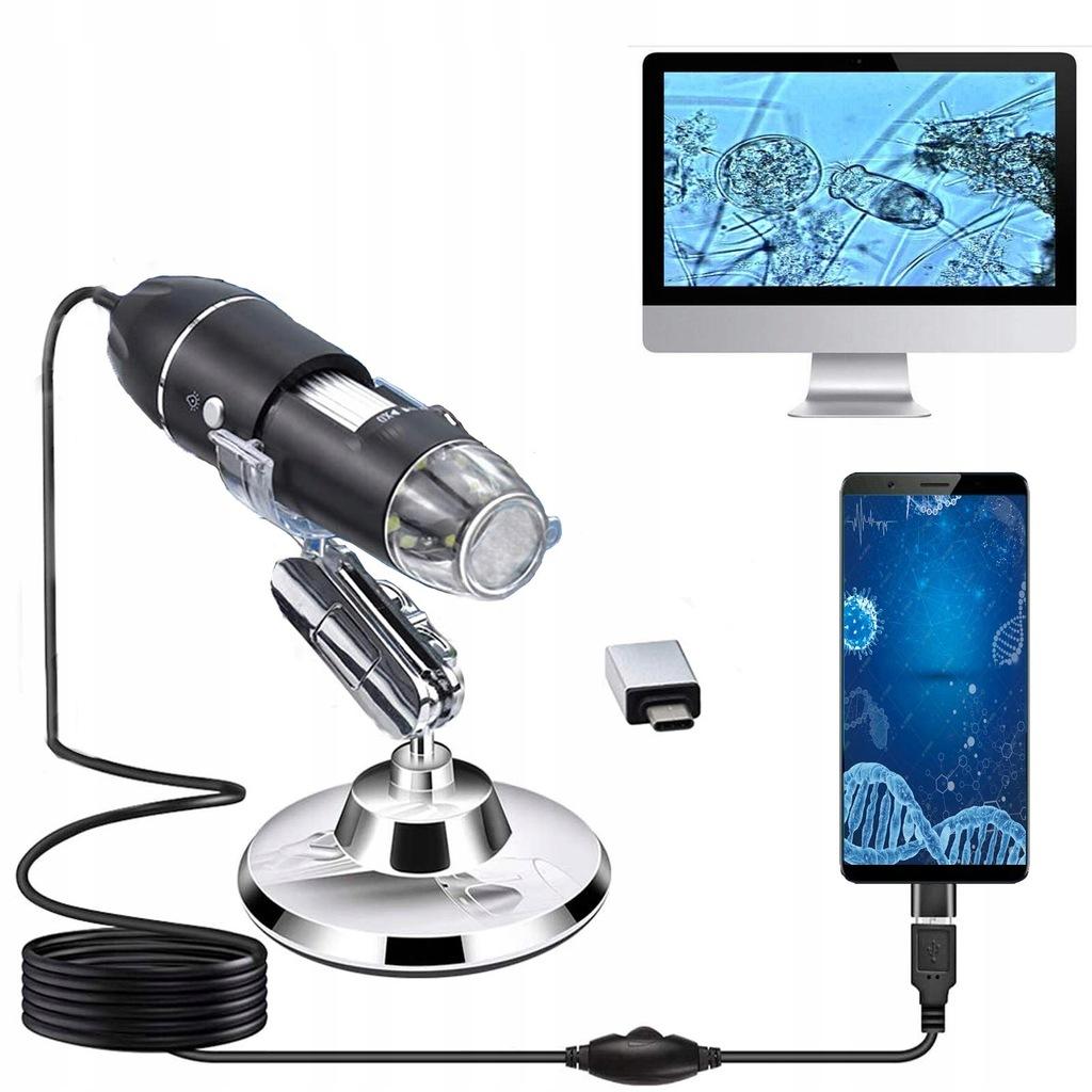 Mikroskop cyfrowy HD Micro USB 3 w 1 Typ C