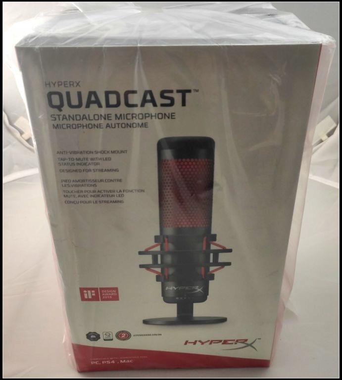 Mikrofon Pojemnosciowy Usb Hyperx Quadcast 8943977990 Oficjalne Archiwum Allegro