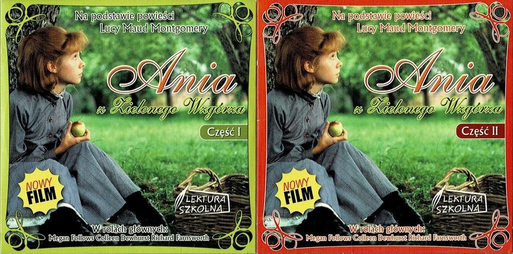 Ania z Zielonego Wzgórza 2 VCD