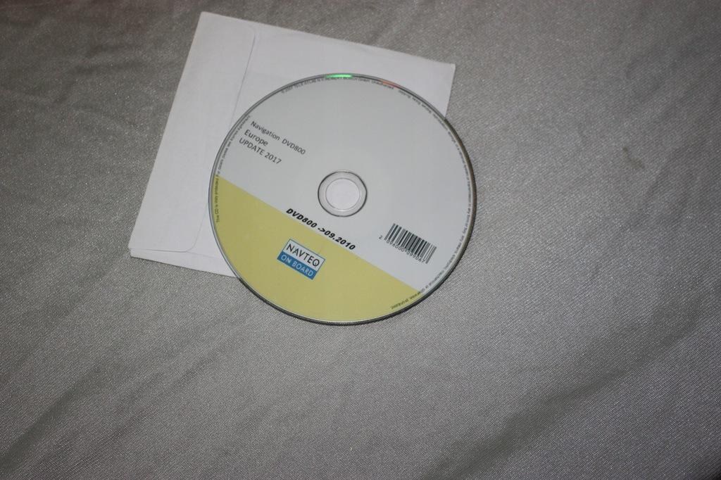 DVD800 OPEL Mapa Europa 2017 MY2010 A