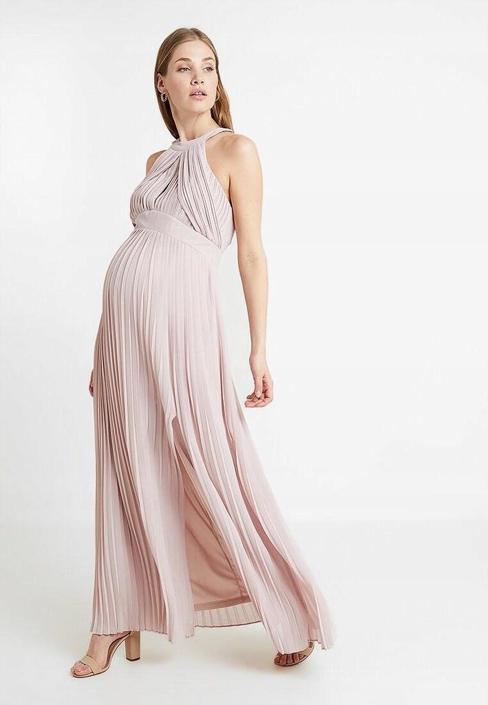 AG F130 TFNC sukienka ciążowa plisowana 40 Z01
