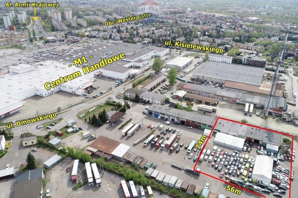 Magazyny i hale, Częstochowa, 900 m²