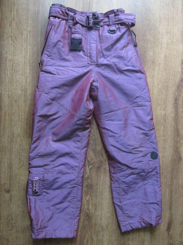 C&A Spodnie ocieplane r.146-152 stan bdb