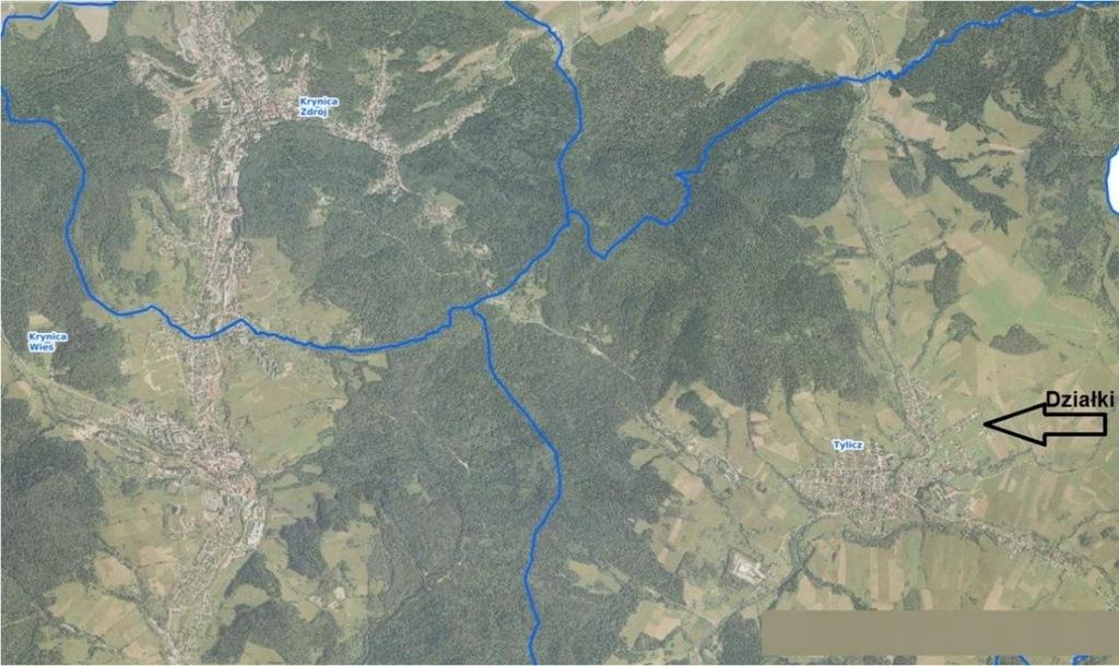 Działka, Tylicz, Krynica-Zdrój (gm.), 700 m²