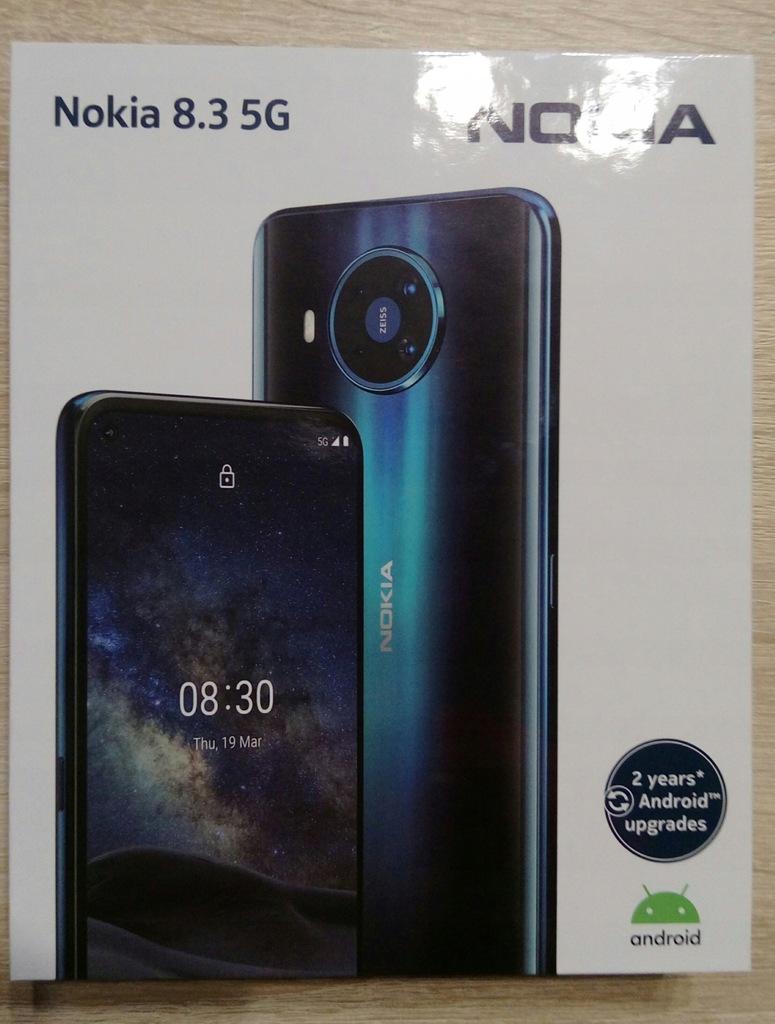Smartfon Nokia 8.3 5G 6 GB / 64 GB niebieski