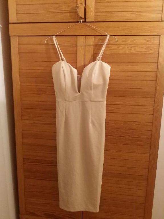 Nowa beżowa sukienka - Mura Boutique Australia