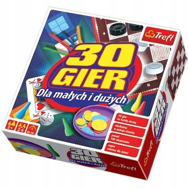 TREFL 00745 Gra Kalejdoskop 30 Gier