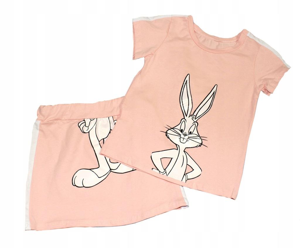 Komplet bluzka spódniczka królik bugs 146-152 12