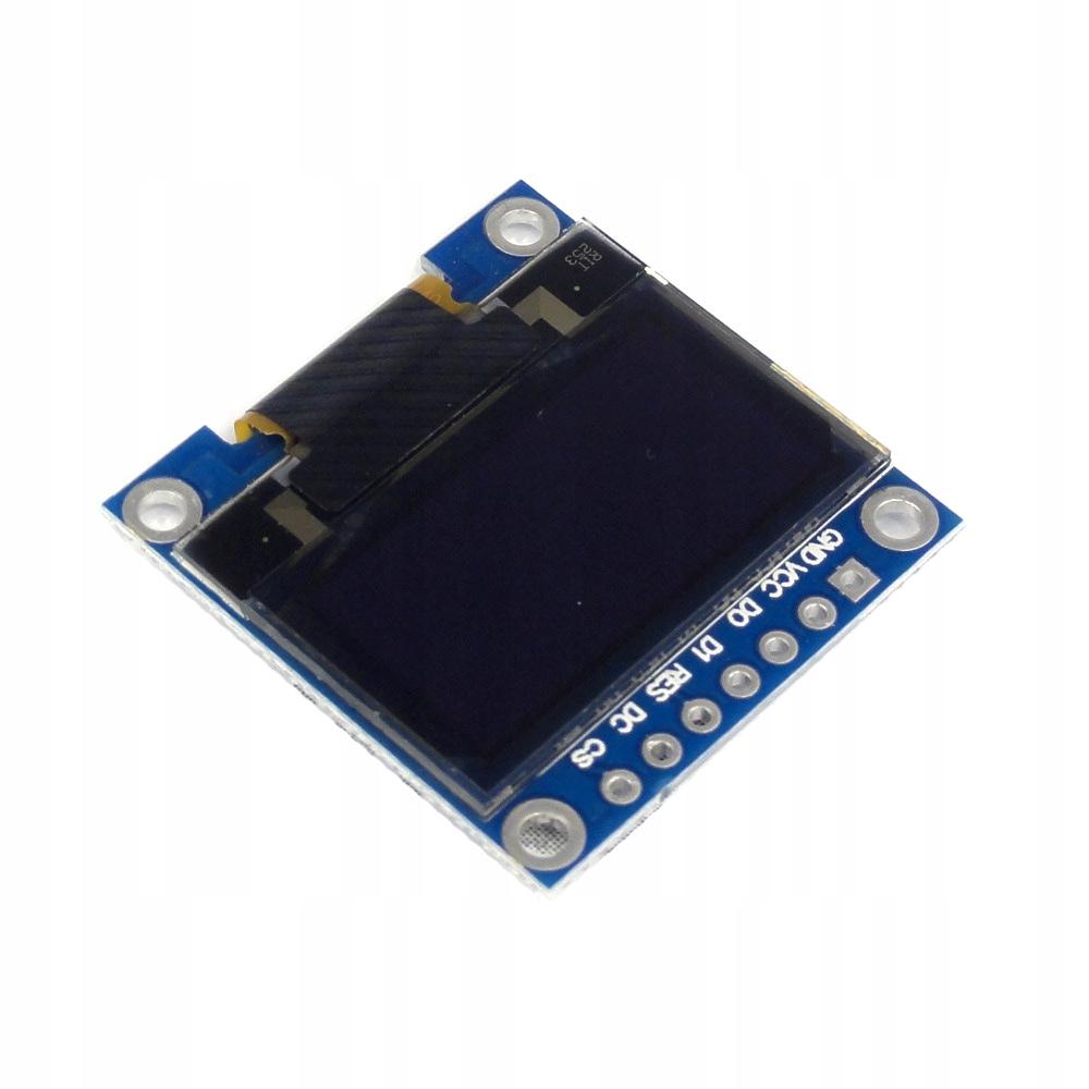 """Wyświetlacz OLED 128x64 0,96"""" biały I2C SPI S"""