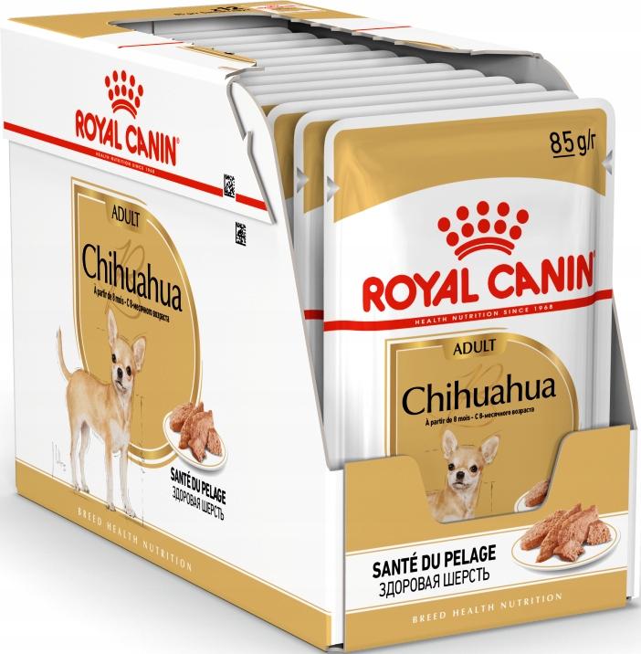 Royal Canin mokra karma Chihuahua saszetka 12x85g