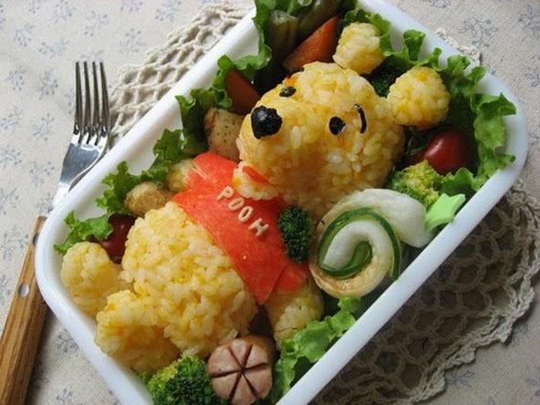 Dekoracje potraw - pomyslow 120+ dla niejadkow :)