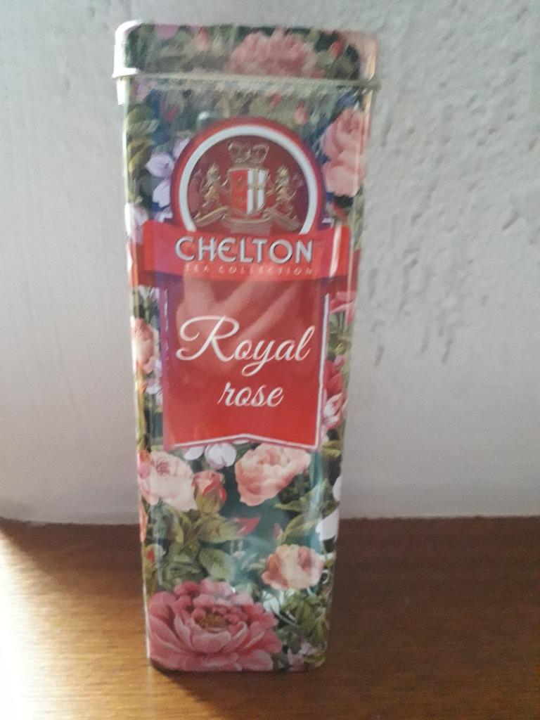 HERBATA CHELTON ROYAL ROSE LIŚCIASTA 80 G.