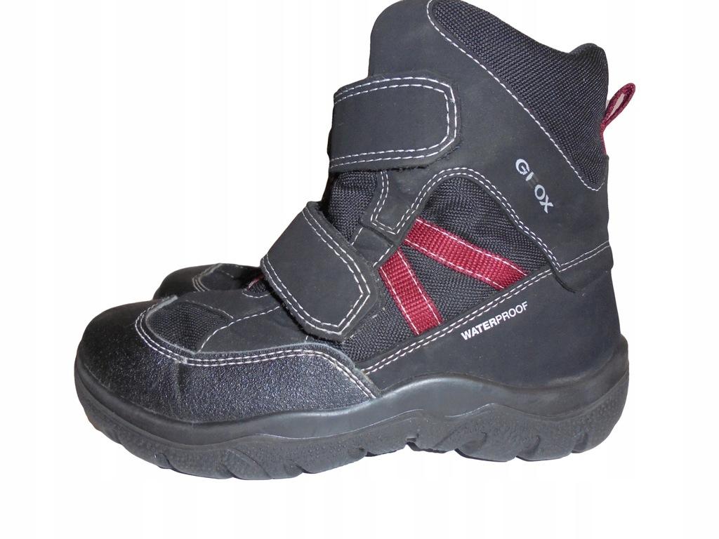 Zimowe buciki Geox Waterproof. Stan idealny. 31