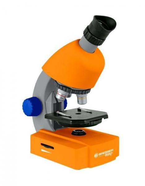Bresser Mikroskop 40x-640x Junior pomarańczowy