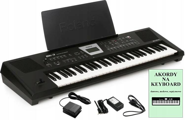 ROLAND BK-3 Zaawansowany Keyboard +Pedał