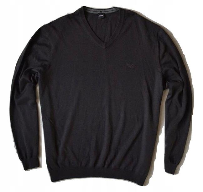 Hugo BOSS Virgin Wool Sweter Meski 4XL