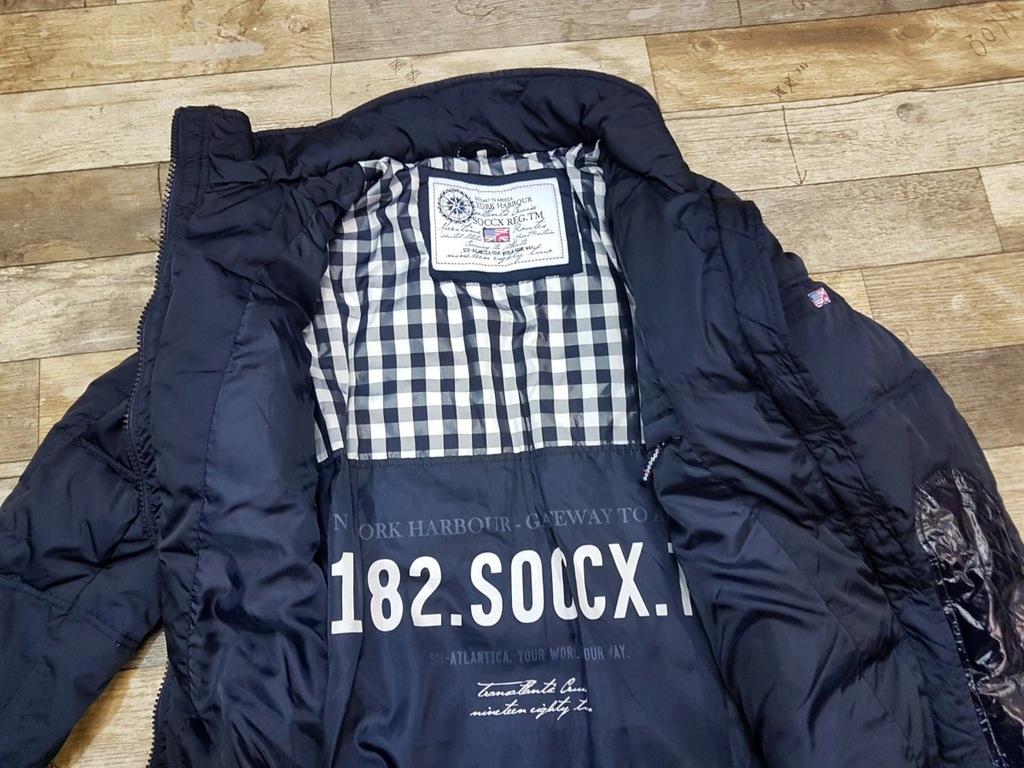 SOCCX ciepła puchowa kurtka damska L