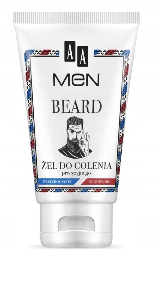 S1J Beard Żel do precyzyjnego golenia 100ml
