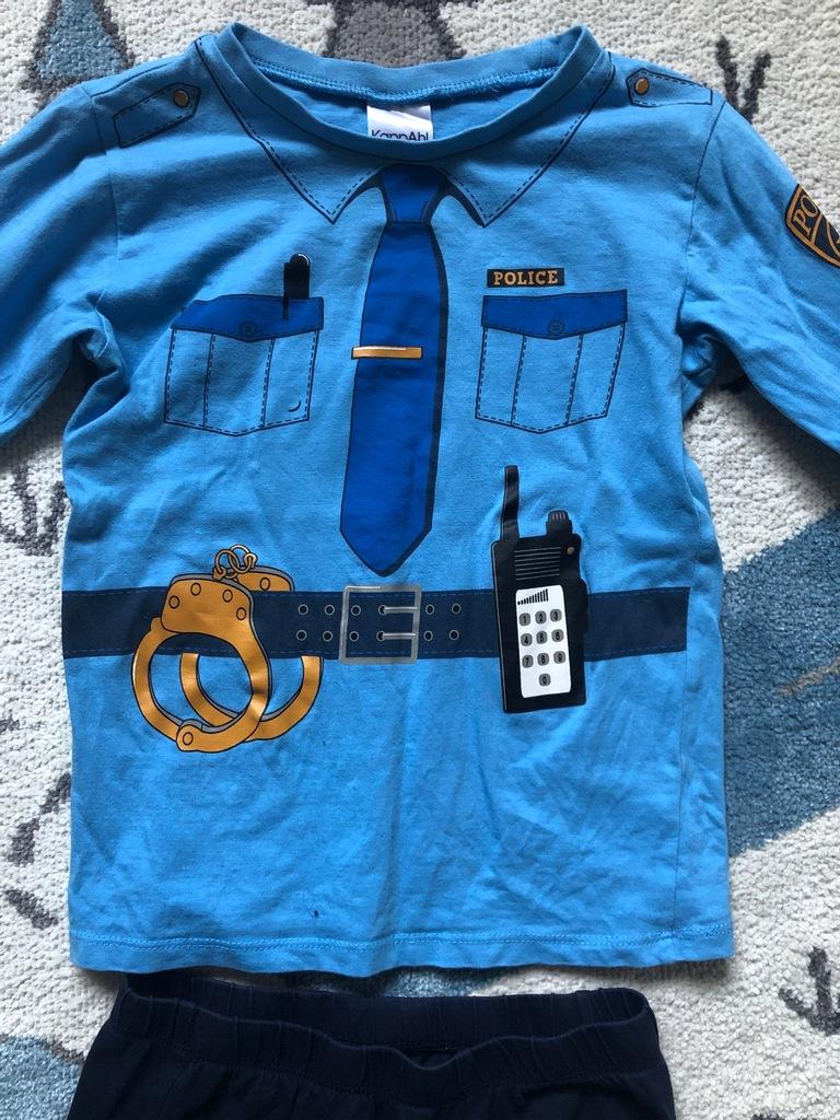 Piżama KappAhl 110 / 116 policjant mundur