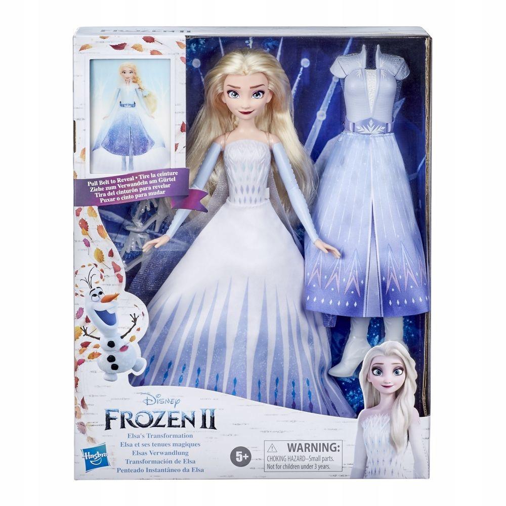 Frozen Kraina Lodu 2 Lalka Elsa Magiczna Przemiana 9654673027 Oficjalne Archiwum Allegro
