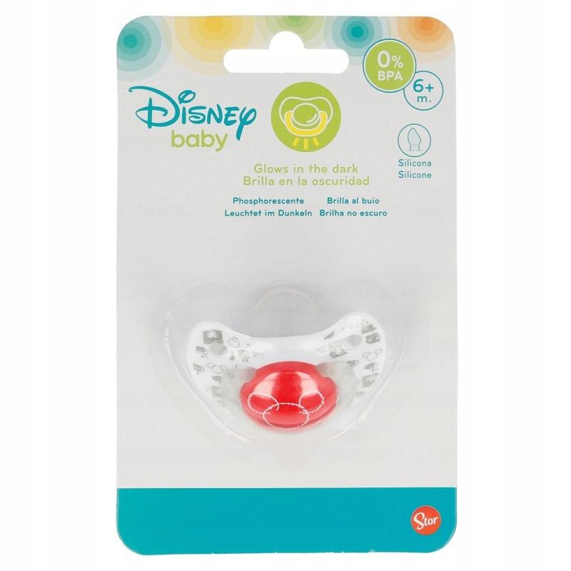 Mickey Mouse - Smoczek silikonowy w anatomicznym k