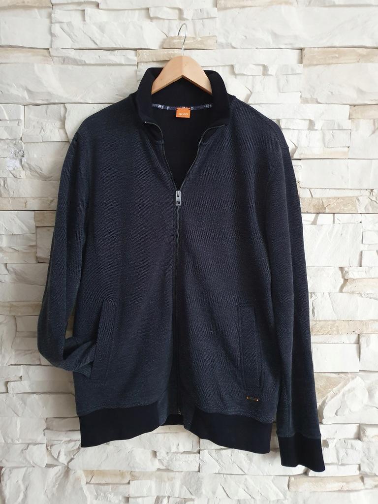 Hogo Boss sweter / bluza rozpinana XL