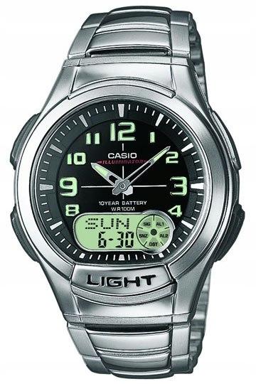 zegarek casio illuminator męski