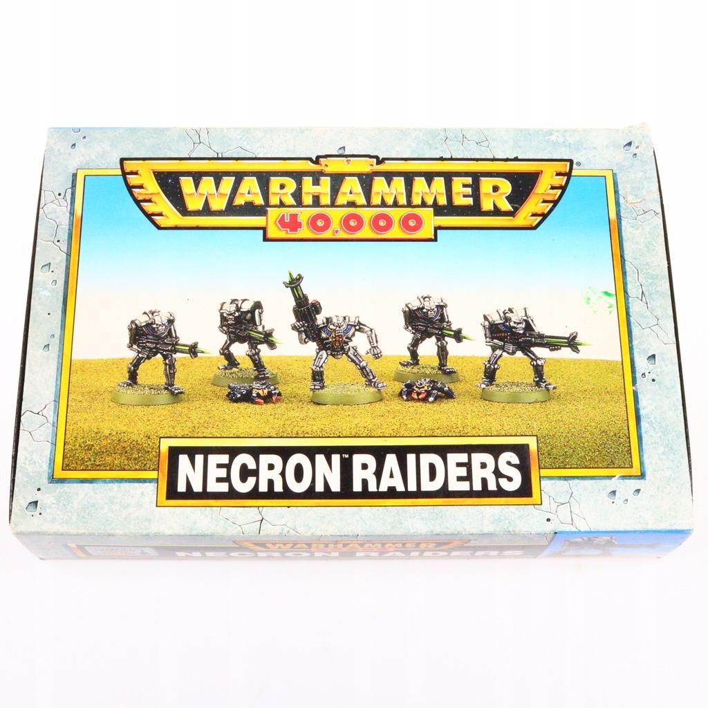 Warhammer 40k Necron Raiders zestaw 5 figurek