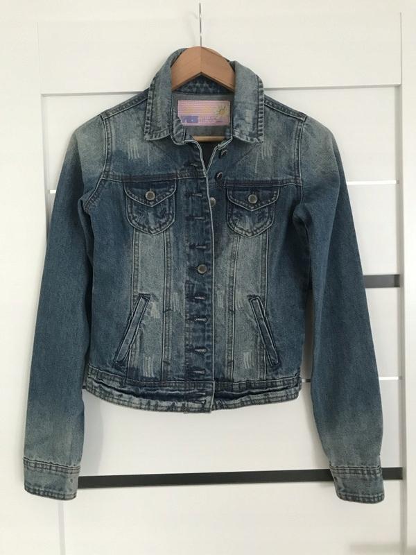 new look KURTKA jeans katana DZINSOWA 36 S