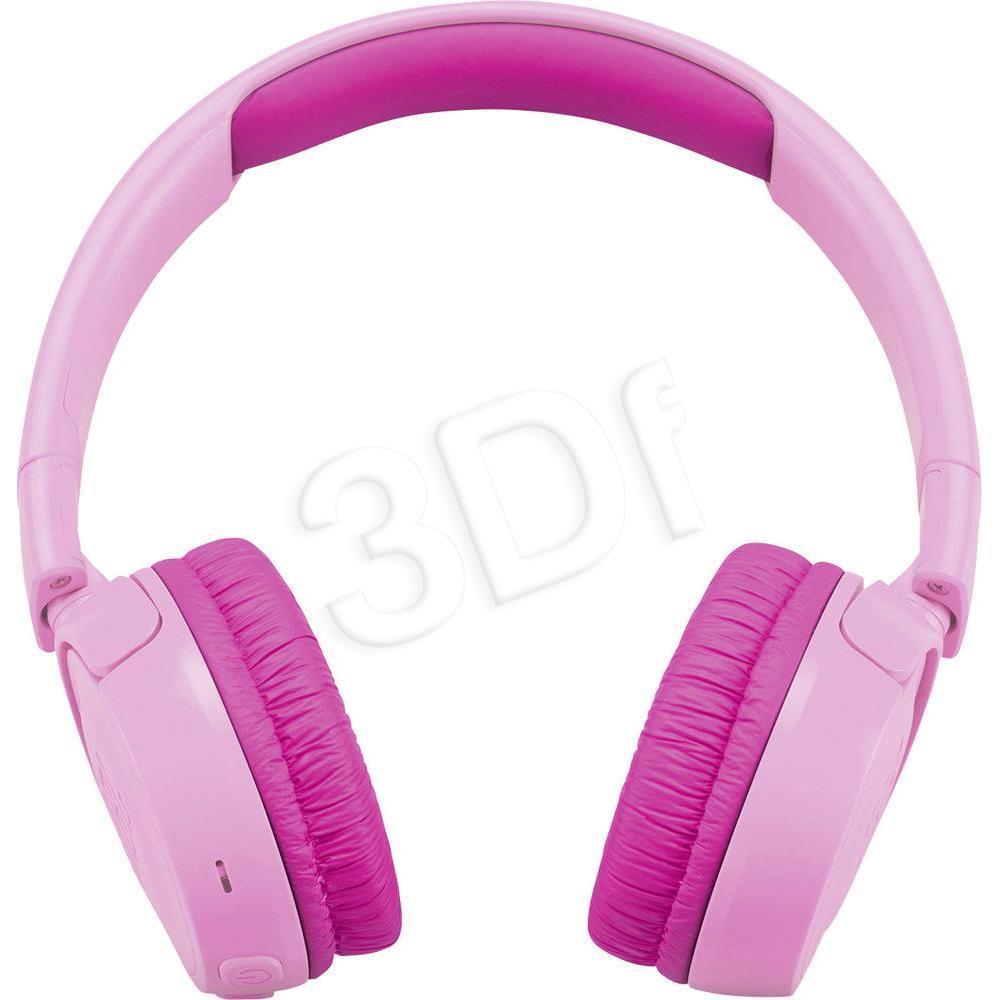 Słuchawki nauszne JBL JR300BT Pink