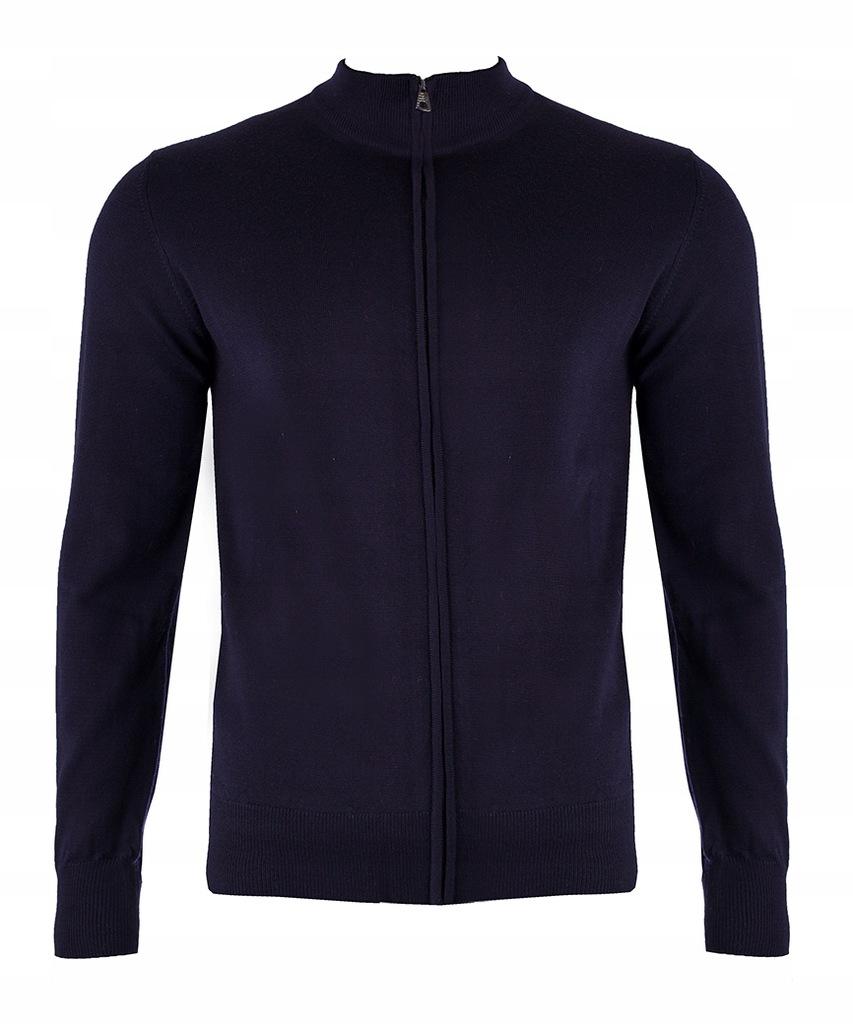 EMPORIO ARMANI EA7 markowy męski sweter cardigan M