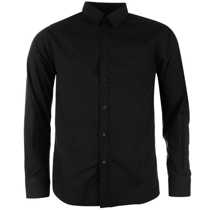 Pierre Cardin Koszula Meska Elegancka BLACK tu XL