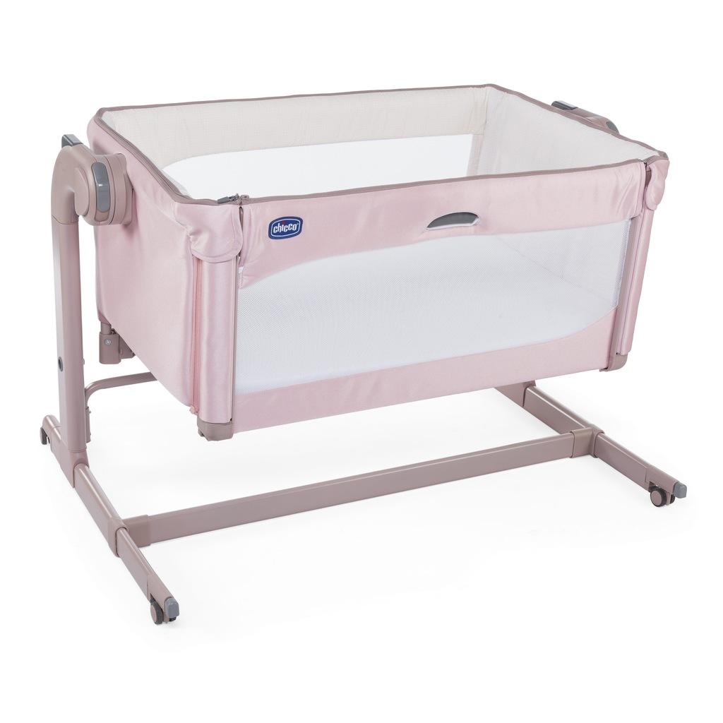 CHICCO Next2Me Magic Łóżeczko dostawka Candy Pink