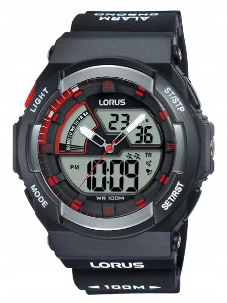 Zegarek Lorus R2321MX9 100M cyfrowo-analogowy