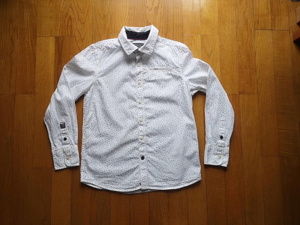 C&A koszula biała rozmiar 128 jak NOWA