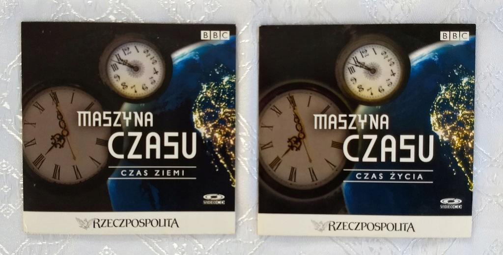 MASZYNA CZASU - BBC - 2 PŁYTY CD