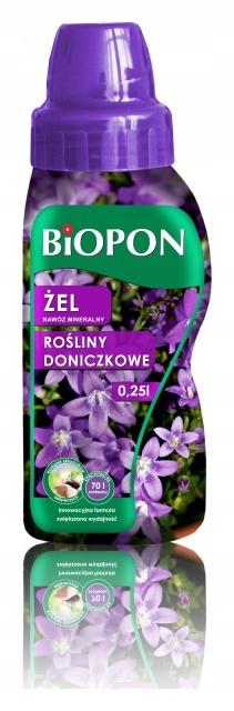 Nawóz mineralny rośliny doniczkowe 250ml Biopon