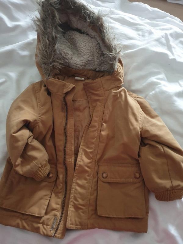 Fajna kurtka H&M zara 80 cm 9/12 miesięcy