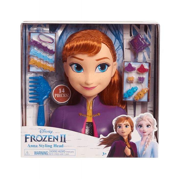 32810 Frozen 2 Anna Głowa do Stylizacji