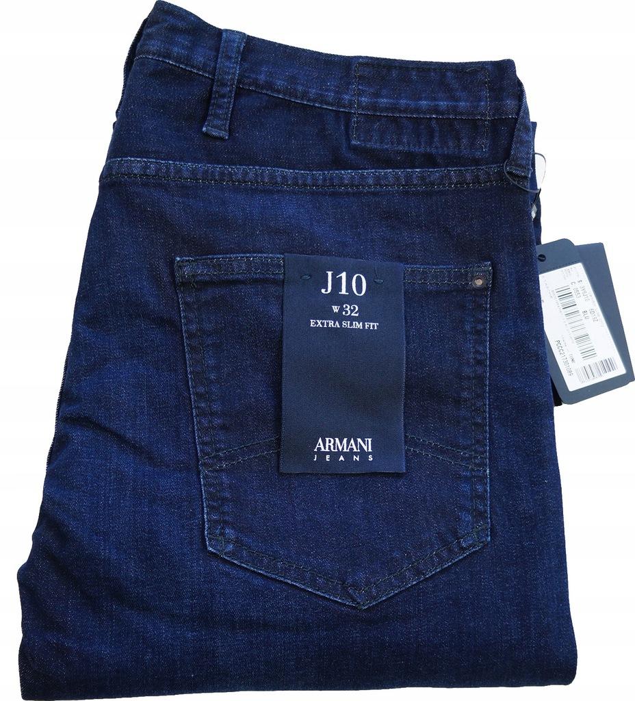 ARMANI spodnie 32 (Pas 91cm) Oryginał 100%!