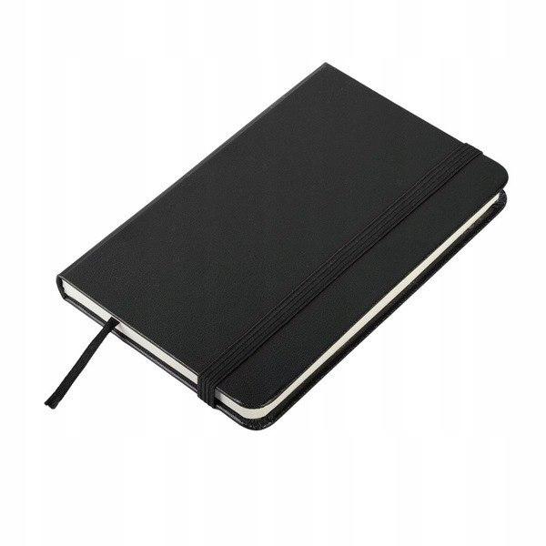 Notatnik 80x127/80k kratka Palencia, czarny