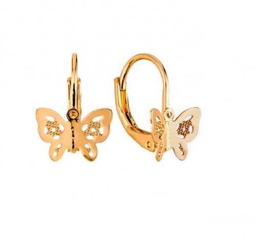 Kolczyki z motylkiem Colibra