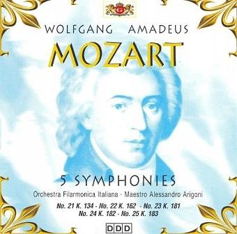 W. A. Mozart - 46 Symphonies Vol. 5 (CD)