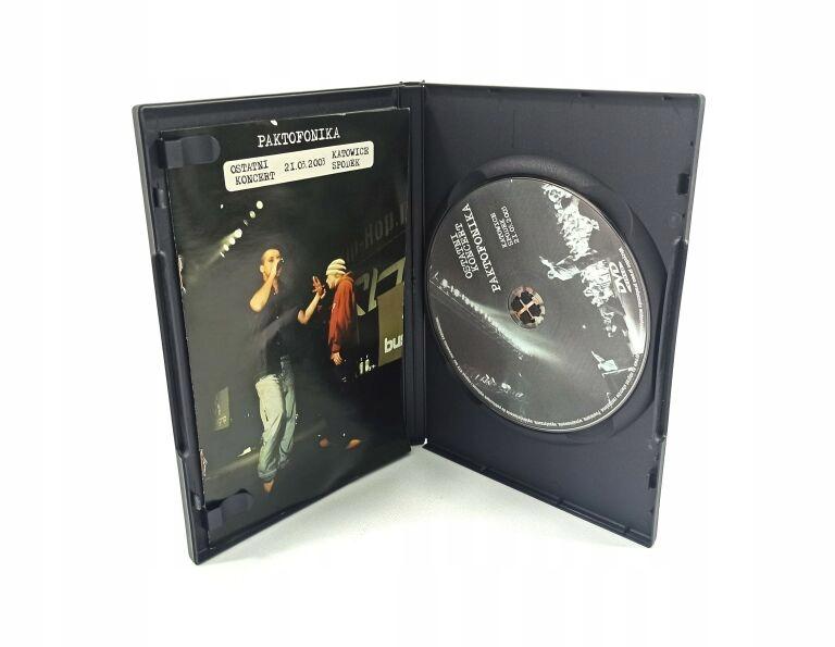 FILM NA DVD PAKTOFONIKA POŻEGNALNY KONCERT