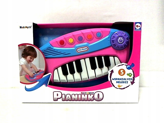 Organy Mały muzyk mix kolorów 1000816