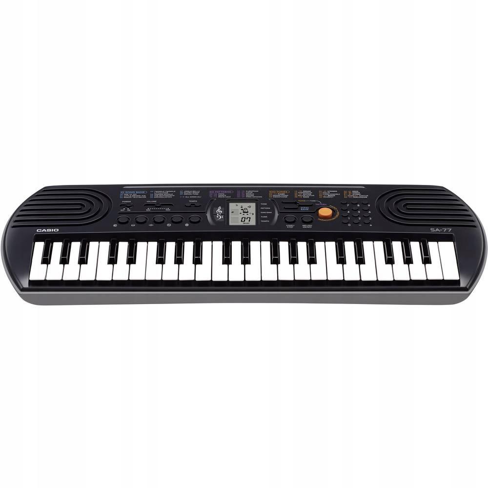Keyboard Casio SA-77, 44 klawisze